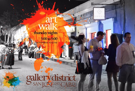 Art Walk at Gallery District SJC