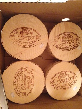 Prince George, Canada: Vacherin Mont- D'or , We're on the wait list for some truly spectacular cheeses