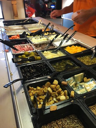 7 50 all you can eat buffet review of godfather s pizza helena rh tripadvisor com