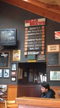 Bill S Tavern And Brewhouse Cannon Beach Menu