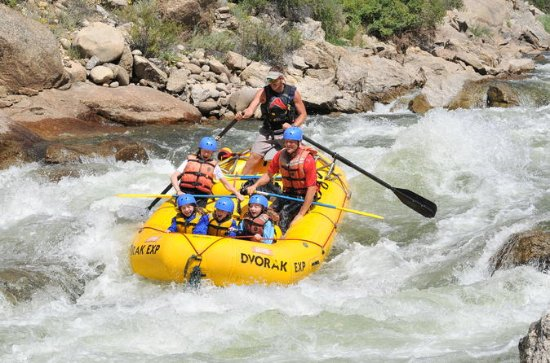 Half-Day Salida Canyon Rafting Tour