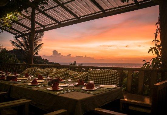 The Secret by Veranda Natural Resort : sunset at The Secret