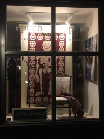 Belfast, Maine: Tibetan Day of the Dead wool rug