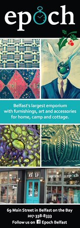 Belfast, ME: Our recent ad in Zest magazine