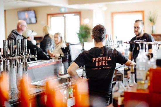 Portsea, Australië: The bar