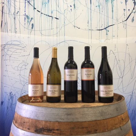 Berkeley, CA: Some of our wines included in a tasting!