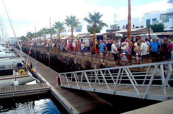 Playa Blanca street market and free...