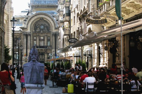 Visita al centro histórico de Bucarest