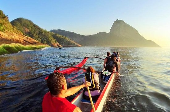 Hawaiian Canoe Expedition to Sugar Loaf