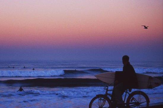 Surf og sykkel