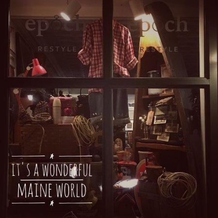 Belfast, Maine: Cool Maine Window at Epoch