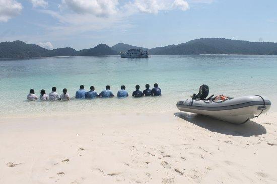 Kawthoung, Myanmar: 115 Island Beach