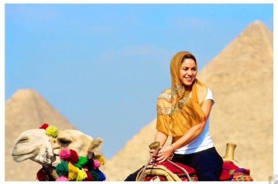 full-day Giza pyramids include camel...