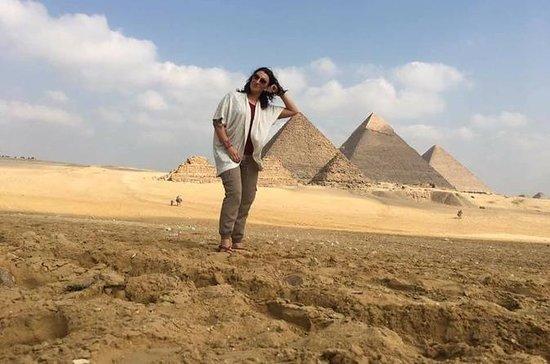 demi-jour pyramide de Gizeh sphinx et...