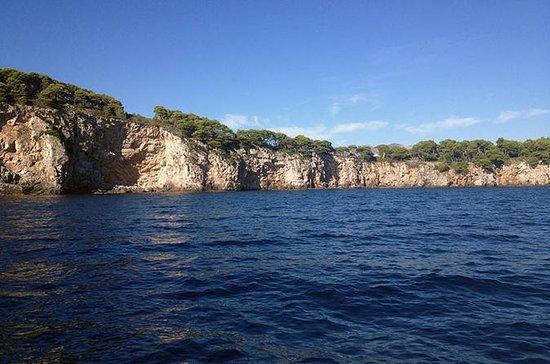 Crucero por las islas de Dubrovnik...