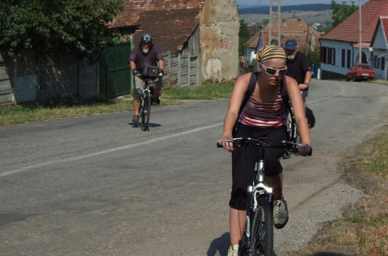 Multicultural biking tour from Brasov