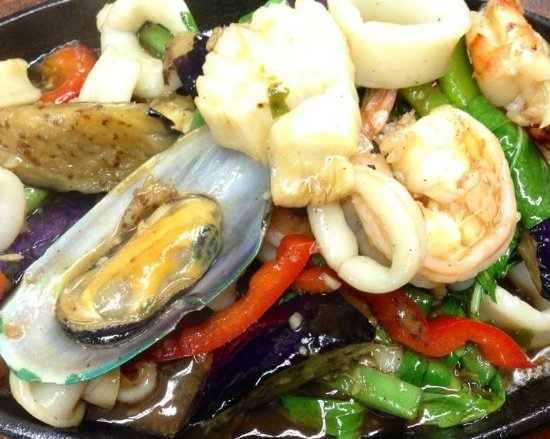 Sandy, UT: Seafood Sizzling Plate