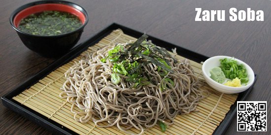 Garching bei Munchen, Jerman: Zaru Soba: ein typisches japanisches Gericht für den Sommer.
