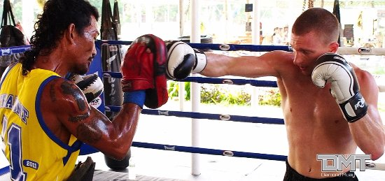 Diamond Muay Thai: Glory fighter Chris Mauceri