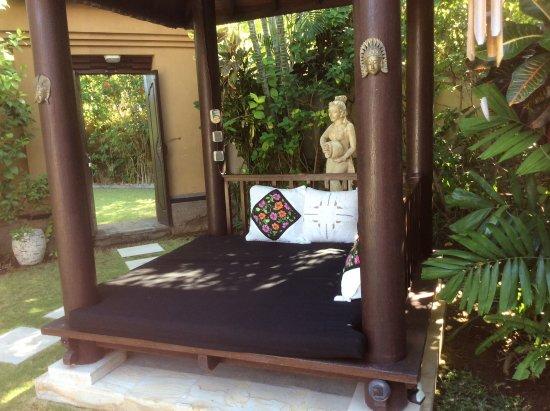 The Zen Villas: Private gazebo