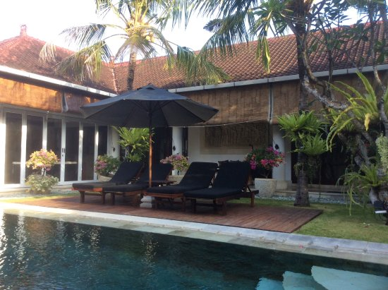 The Zen Villas: Best pool area ever!