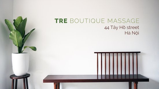 TRE Boutique Massage @ Villa 44 Tay Ho Street