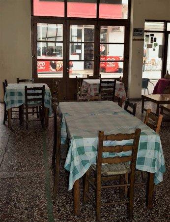 Zakros, กรีซ: cafe snack