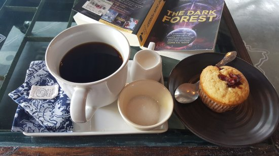Mae Sot, تايلاند: Coffee and a muffin :0)