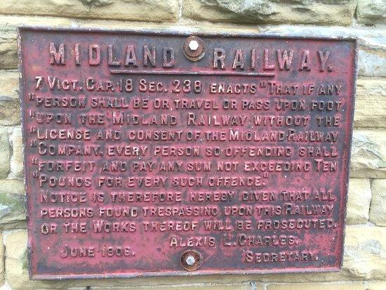 Settle, UK: Midland railway