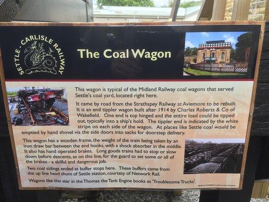 Settle, UK: Coal Wagon info