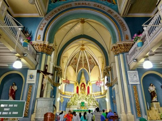 Altar at the Mount Mary Church