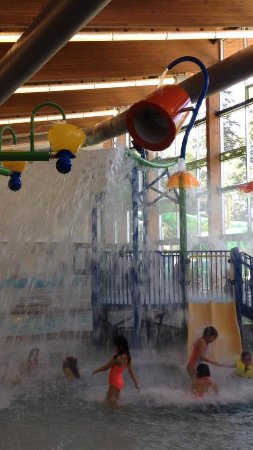 water fun at Lynnwood Pool and Rec center