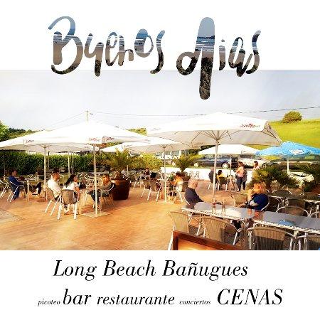 Bañugues, España: Terraza