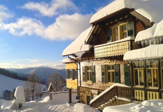 Todtnau, Almanya: Winterbild