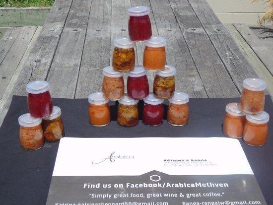 Methven, Nueva Zelanda: Home Made Chutneys
