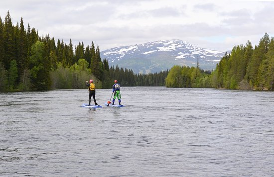 Are, Zweden: Stand up paddling