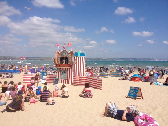 The Rosefield: Weymouth beach