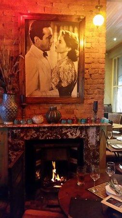 Rick's Cafe Americain: Ricks cosy dining experience