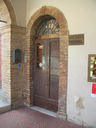 San Severino Marche, Italia: Ingresso Accademia Musicale Feronia
