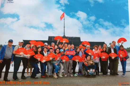 Viet Vision Travel - Day Tours: Singaporean Group in Hue
