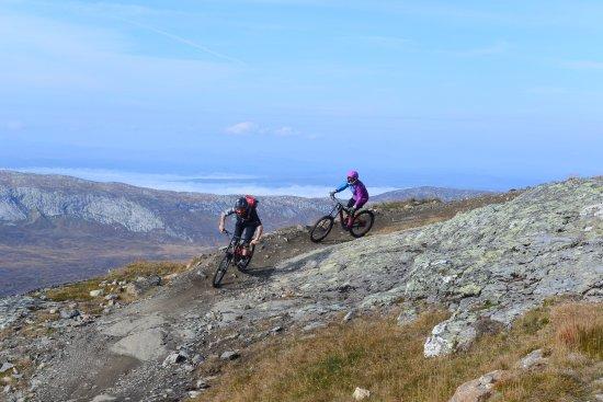 Are, Zweden: Downhill i Åre Bike Park