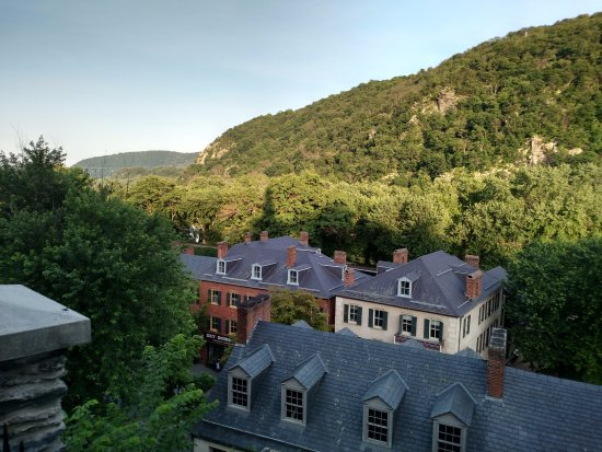 Harpers Ferry, WV: View looking East