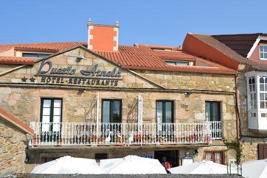 Camarinas, Испания: Fachada edificio
