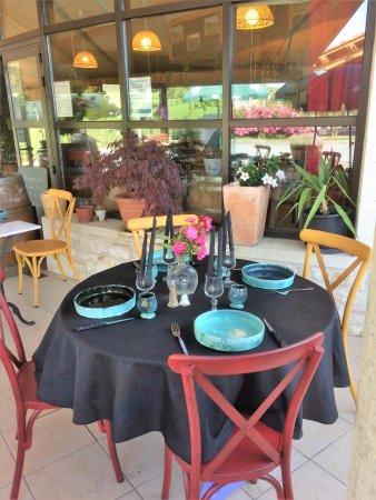 Saint-Nexans, Франция: La terrasse Restaurant l'Etoile