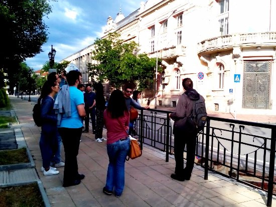 Ruse, Bulgaria: In front of the Regional Library