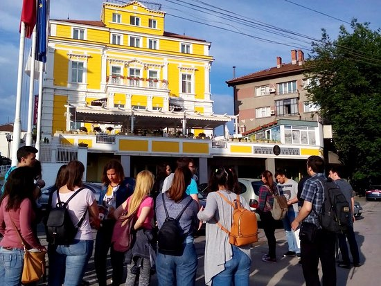 Ruse, Bulgaria: Across the River Administration Building