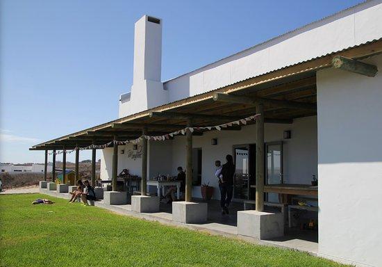 Paternoster, Südafrika: Mondvol kuier.