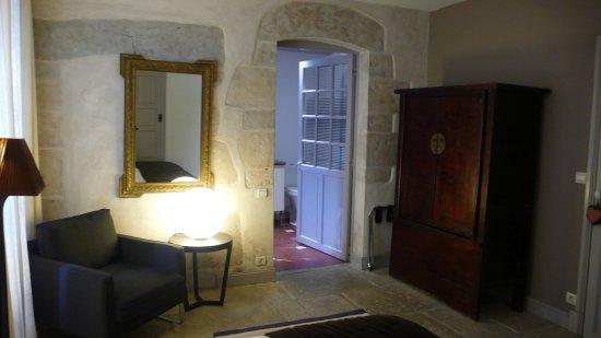 La Bastide-Clairence, Frankrig: Chambre Rêveries au rez-de-chaussée de la  Maison Maxana