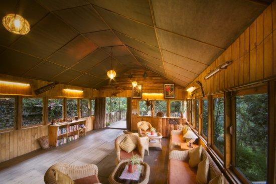 Mangan, India: The common lounge area