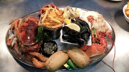 The Swan Inn : Seafood Platter (Lympstone landed!)